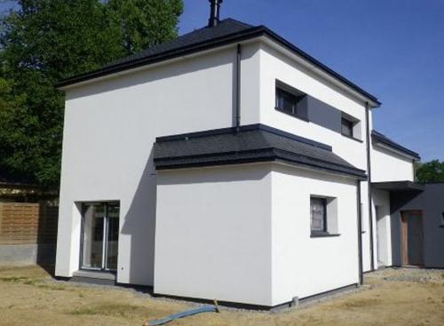 Isolation thermique par l 39 ext rieur rennes ite finition humide polystyr n - Isolation exterieur maison neuve ...